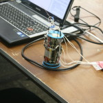 CanSat before launch.