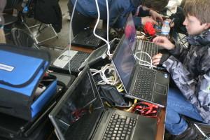 Laptopy, które zbierały nasze dane.