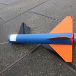 Second part of rocket.