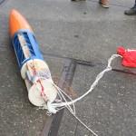 Pierwsza część rakiety.